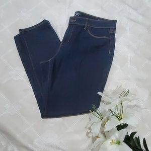 Ann Taylor LOFT Curvy Skinny Fit Size 14 Jeans